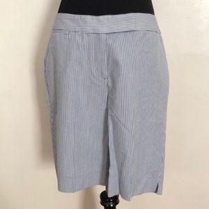 Talbots Pinstriped Shorts